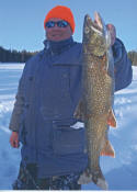 Lac Seul Ice Fishing