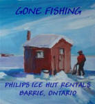 Lake Simcoe Fishing Huts